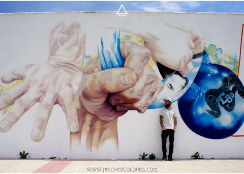 Crossfit en León. Reebok. Graffiti por pinche. Arte urbano y street art