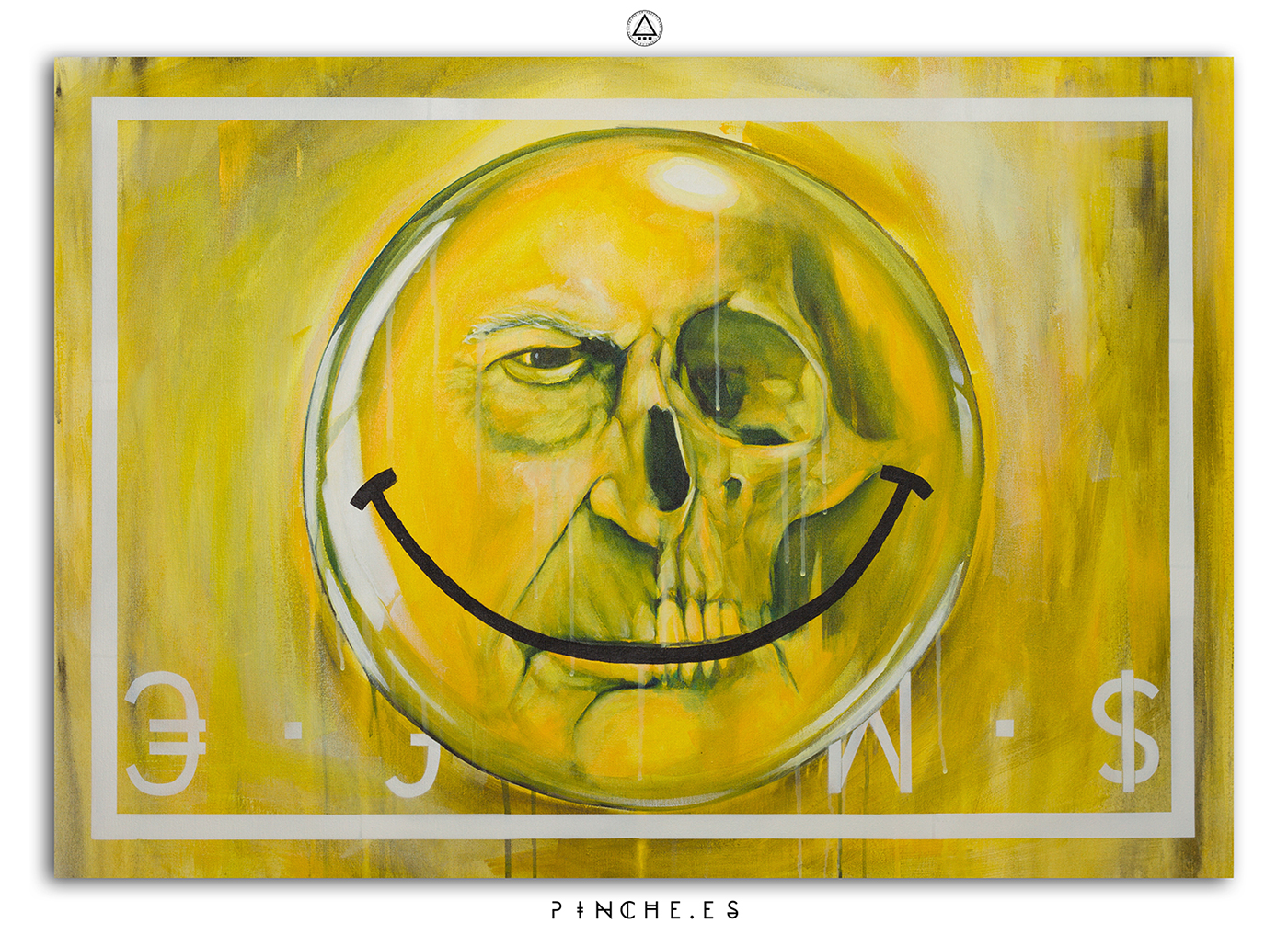 Lienzo original Smile