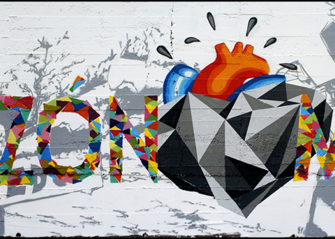 curso graffiti mural en León